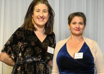 Former SA Rising Champion Kitty Sheridan with CCA LivestockSA Director, Gillian Fennell