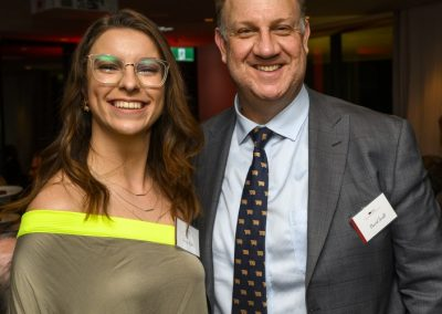 CCA Policy Officer, Darcy Ryder and ADF CEO, David Inall